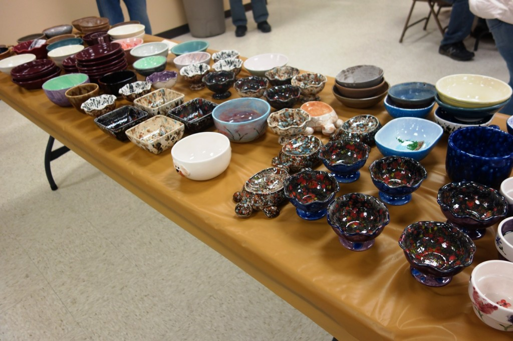 Featured bowls from the 2014 Potters Bowl